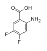 2-Amino-4,5-difluorobenzoic acid 97% of picture